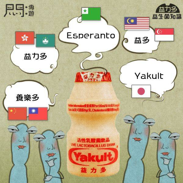 Yakult —— 世界語